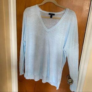 J. Crew Linen Sweater Size XL